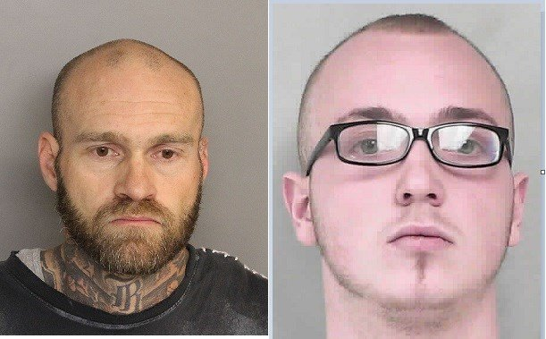 Washam (left and Sutton (right) (Photo Source: Burke Co. Sheriff's Office)