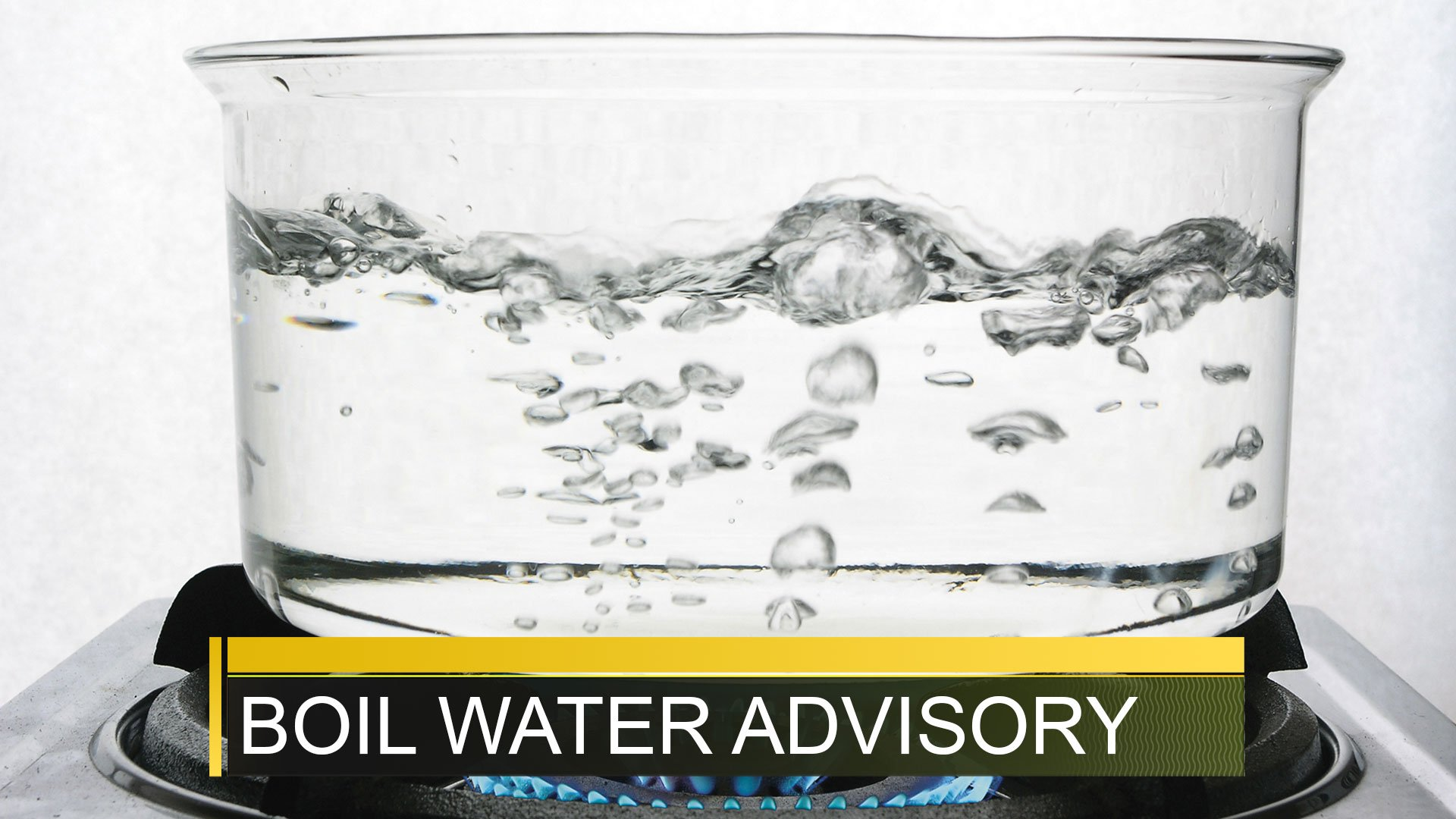 Boil Water Advisory; Source: WFXG