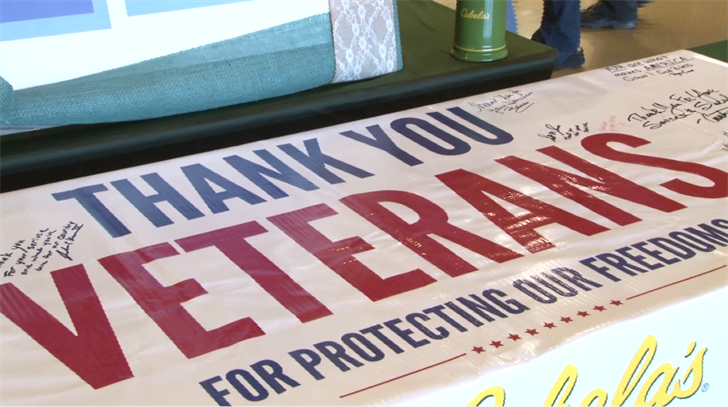 Restaurant offering free meal to veterans