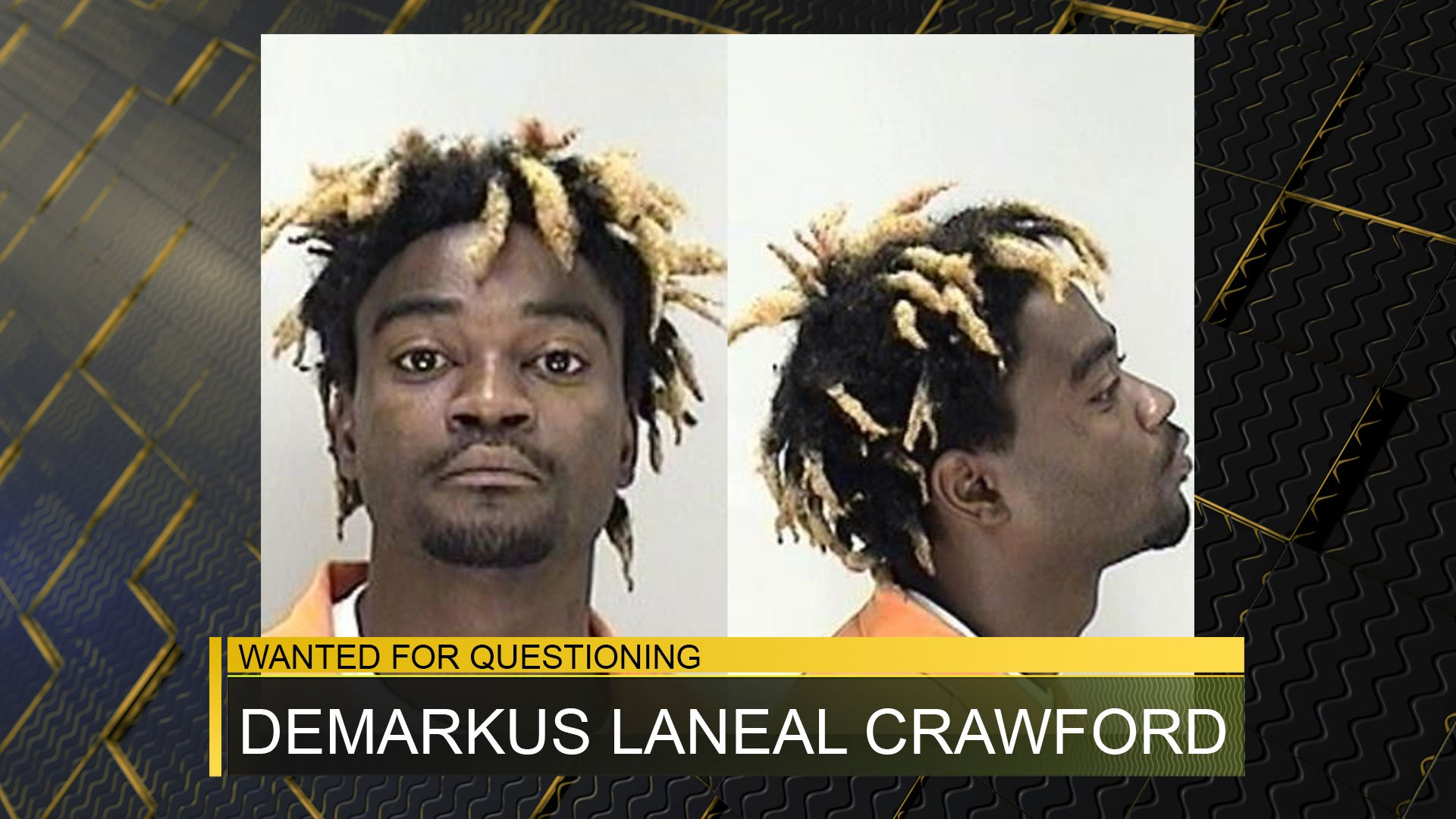 Demarkus Laneal Crawford (source: Richmond County Sheriff's Office)