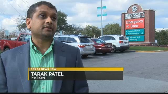 Dr. Tarak Patel (WFXG)
