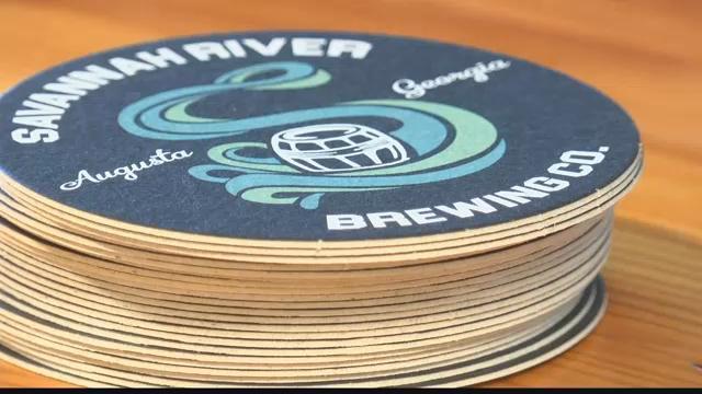 Savannah River Brewing Company coasters (WFXG)