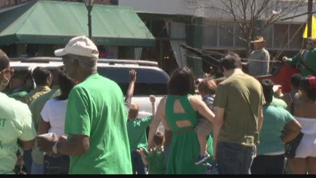 Augusta St. Patrick's Day parade (WFXG)