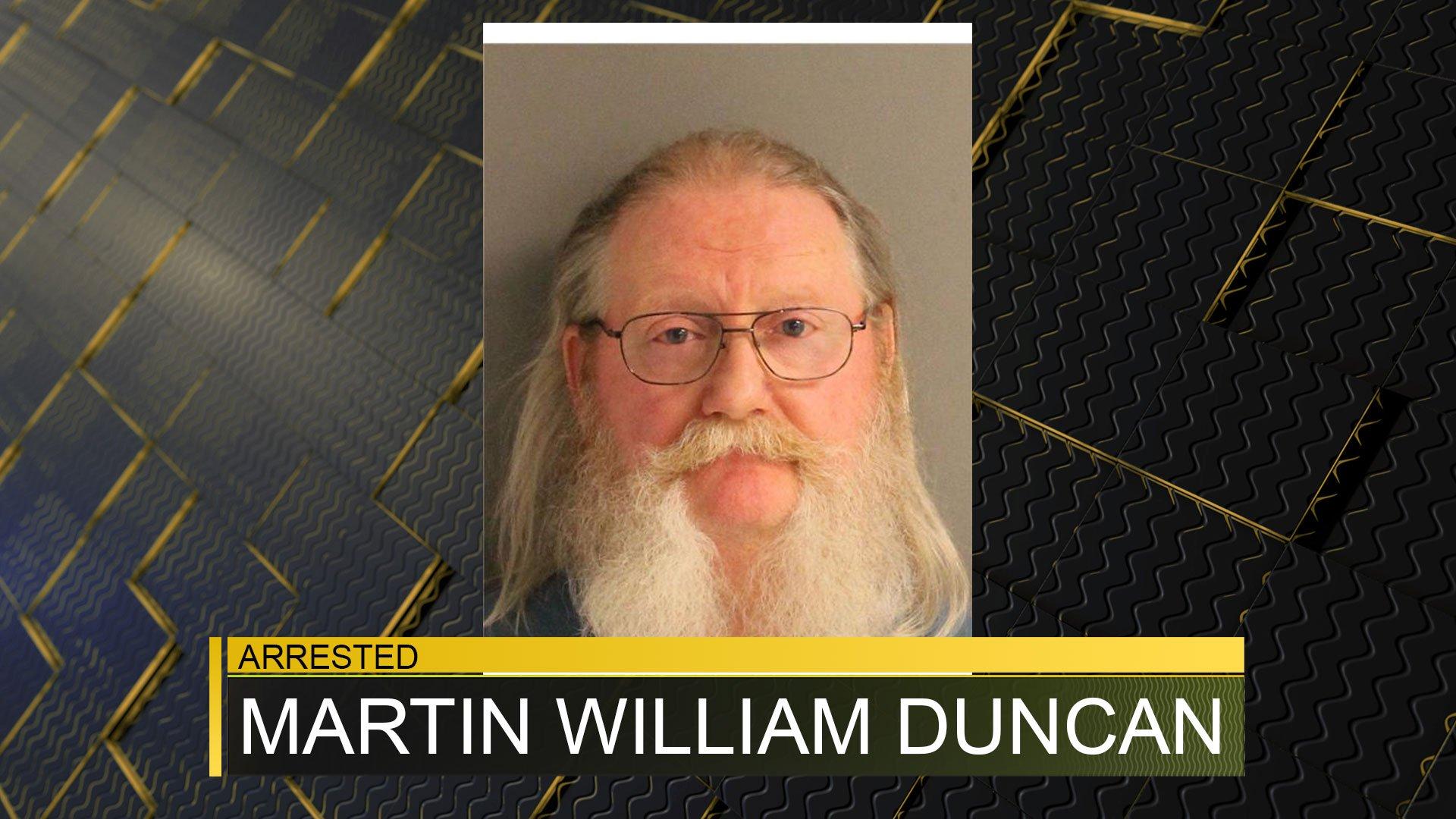 Martin William Duncan (source: Aiken County Detention Center)