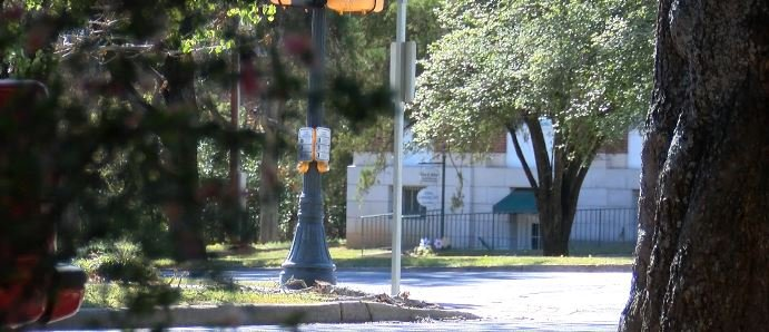 The parkway in front of the Aiken Municipal Building will act as the model; WFXG.