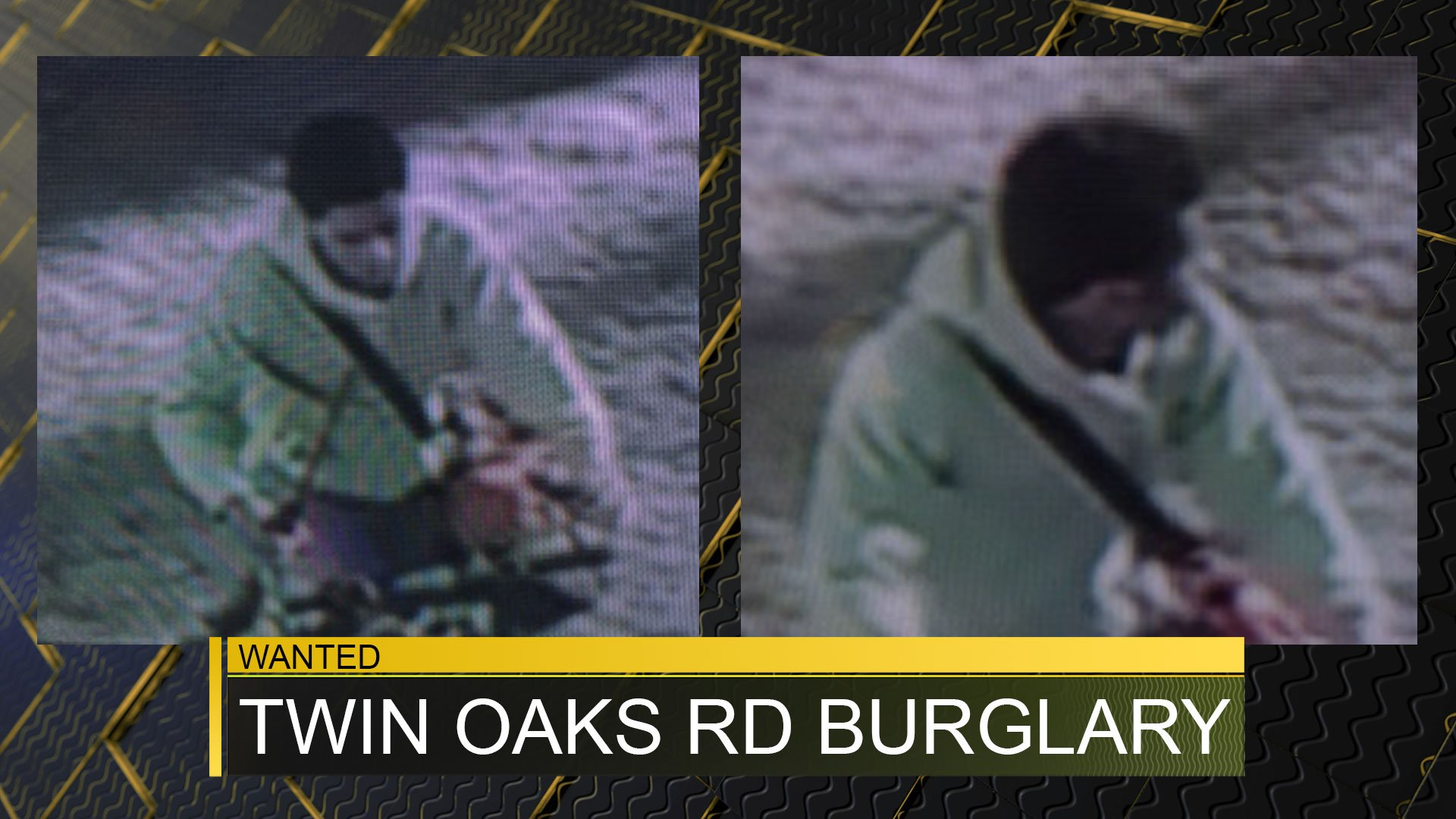 Suspect wanted in Twin Oaks Rd. burglary (source: McDuffie County Sheriff's Office)