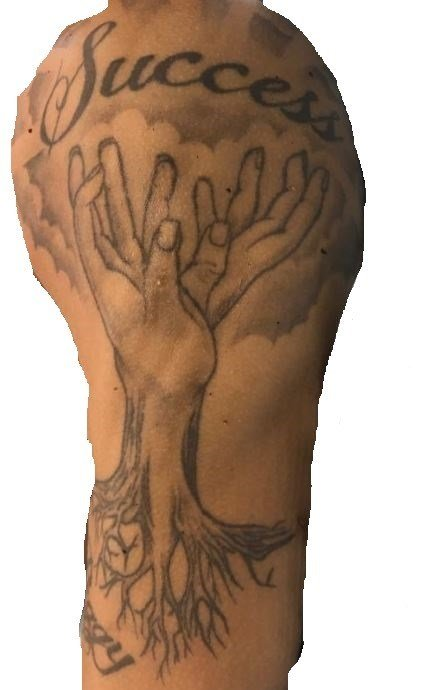 Tattoo located on the victim's left upper arm/shoulder (source: Richmond County Sheriff's Office)