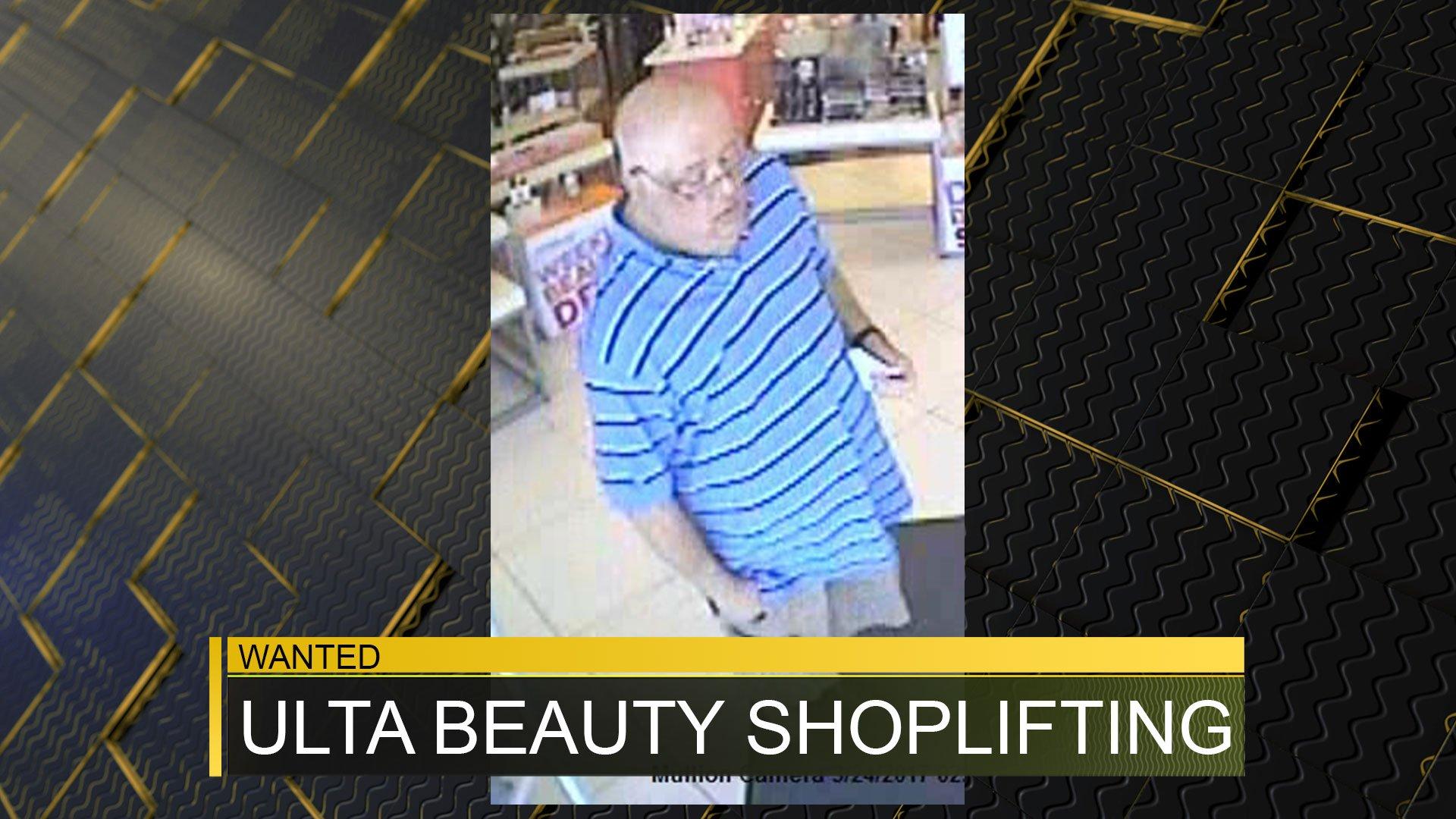 Ulta Beauty shoplifting subject 3/24/17 (source: Richmond County Sheriff's Office)