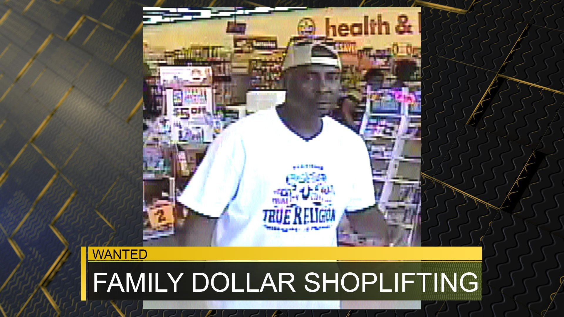 Family Dollar shoplifting subject 3/31/17 (source: Richmond County Sheriff's Office)