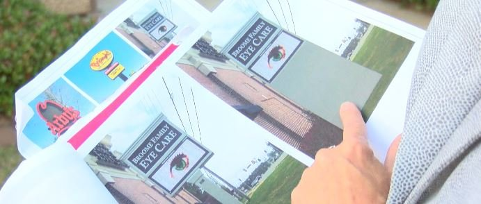 The next stop for the sign ordinance is county commission on May 2nd; WFXG.