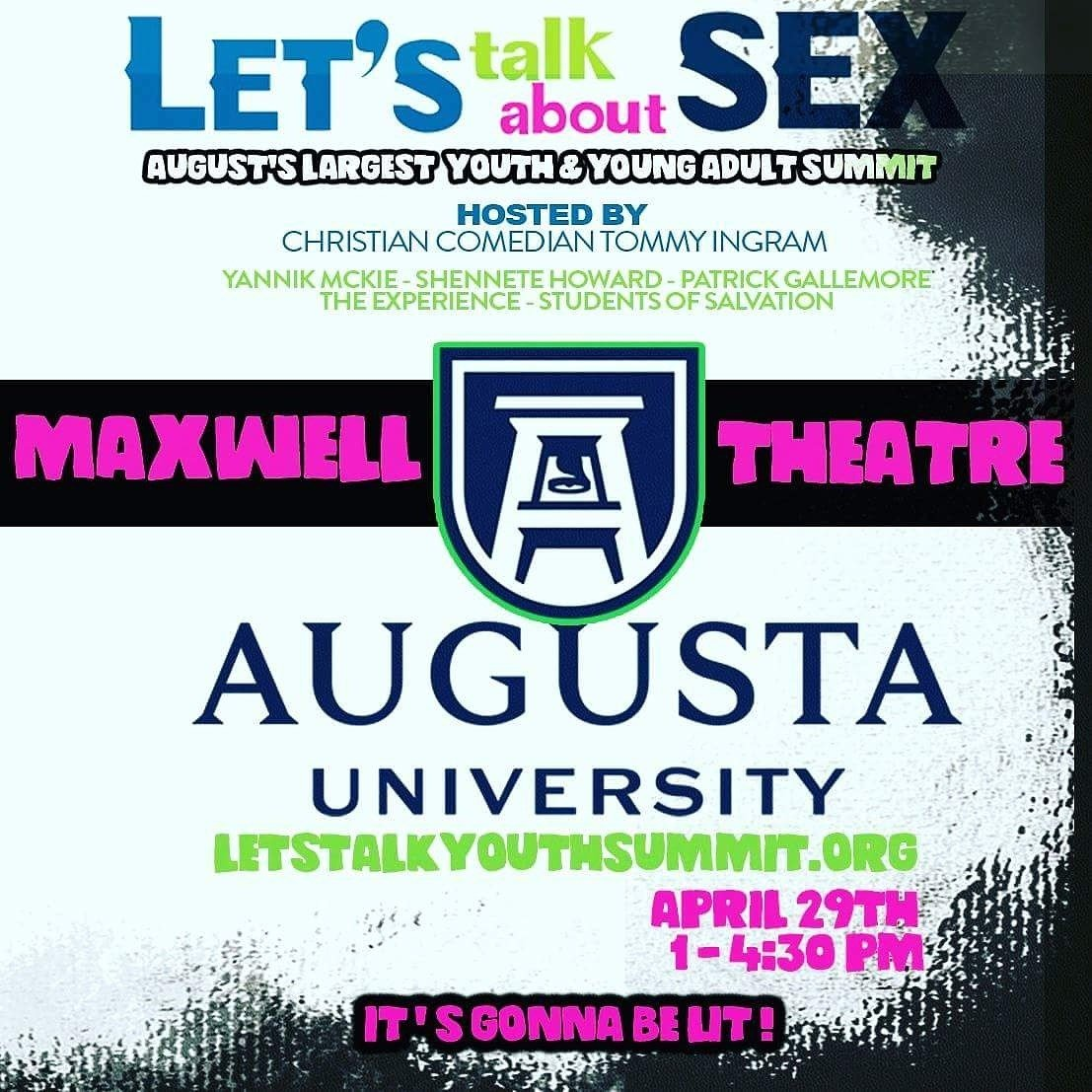 """Lets Talk About Sex"" Conference; Source: The Mckie Foundation"