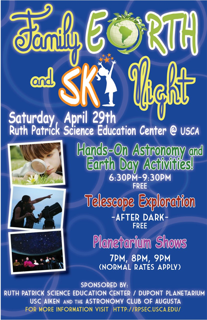 Family Earth and Sky Night; Source: USC Aiken