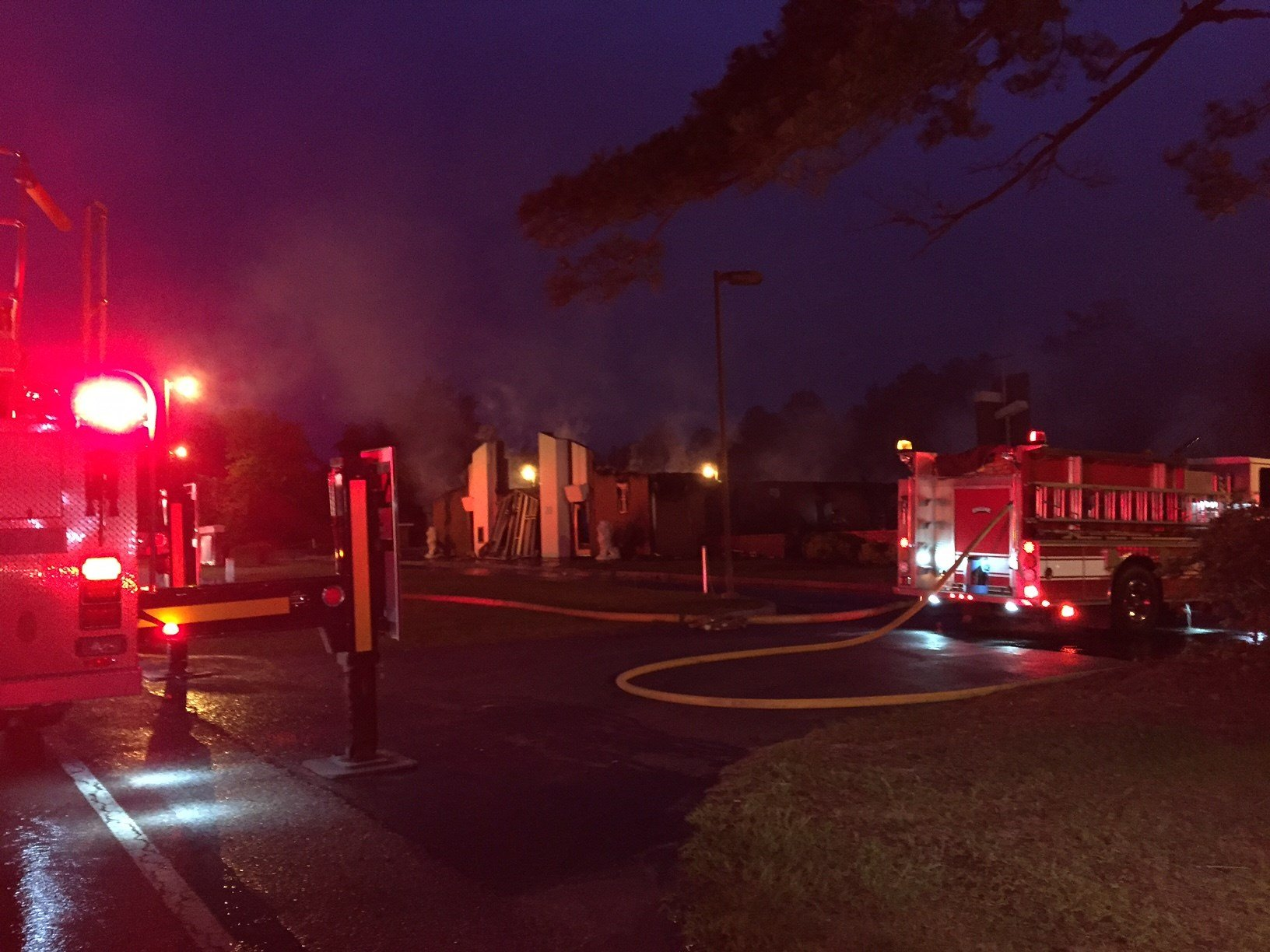 investigators: no foul play in united house of prayer fire - wfxg