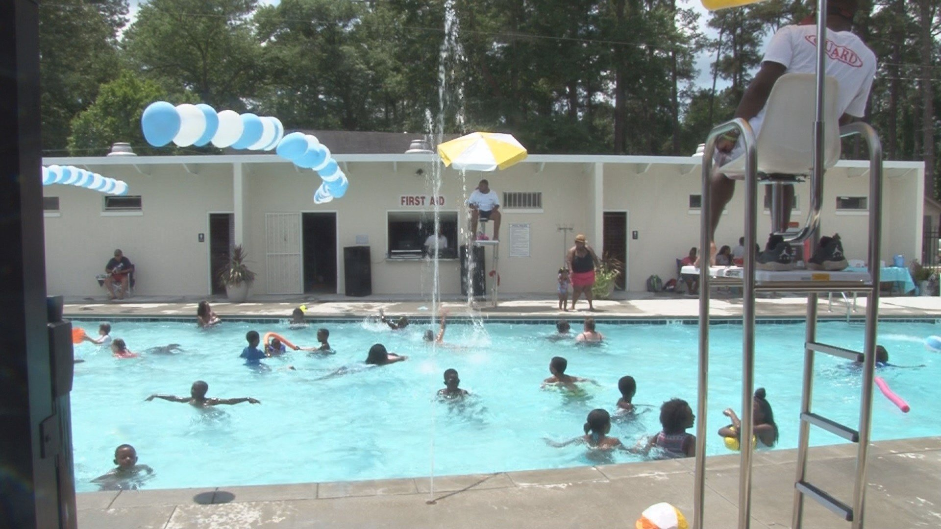 The aiken county recreation center opens newly remodeled for Pool show florence sc