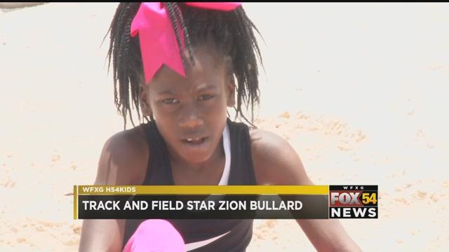 High 5 4 Kids: Zion Bullard (WFXG)