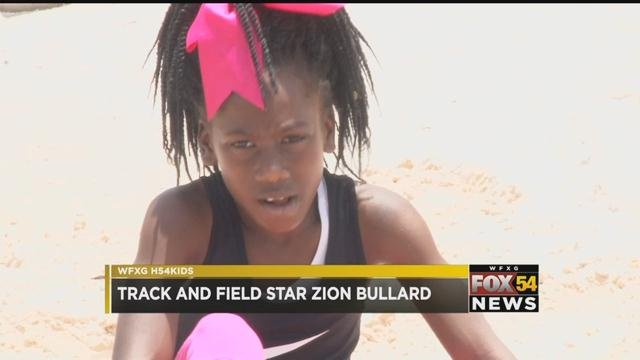 High 5 4 Kids: Zion Bullard (WFXG)