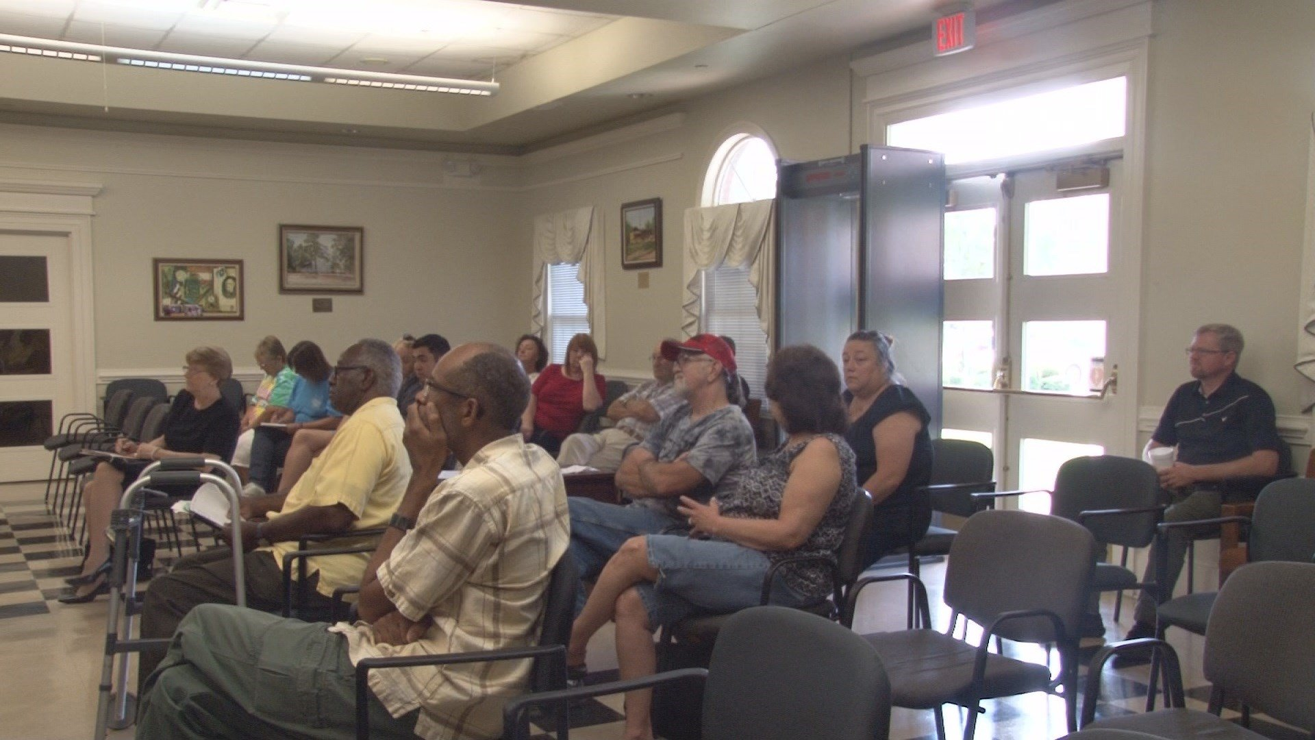 HEATED DISCUSSION ON PROPOSED MILLAGE HIKE wfxg