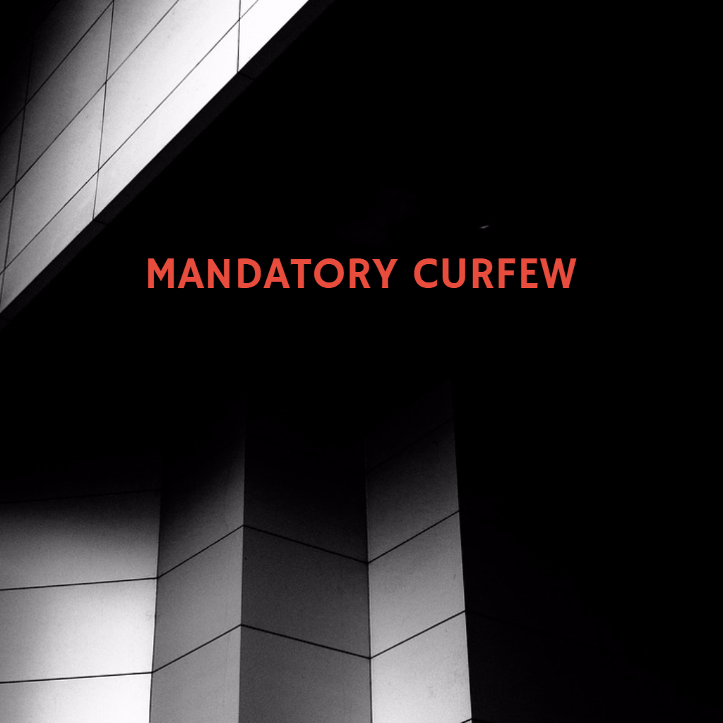 Mandatory Curfew for Jefferson County; Source: WFXG