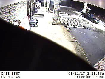 Vehicle break-in suspects' car (source: Columbia County Sheriff's Office)