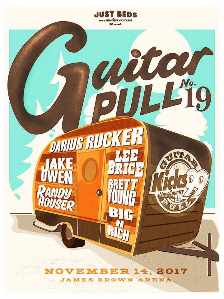 Guitar Pull 2017; (Source: Kicks99)