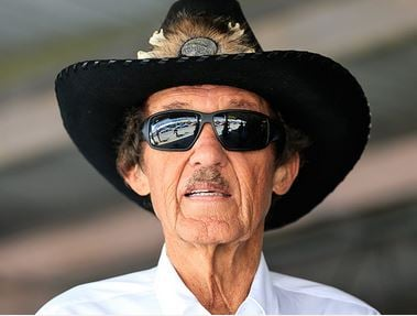 Seven time NASCAR Champion Richard Petty raced at AIR from 1962 until its closing in 1969. (source: Doug Allen)