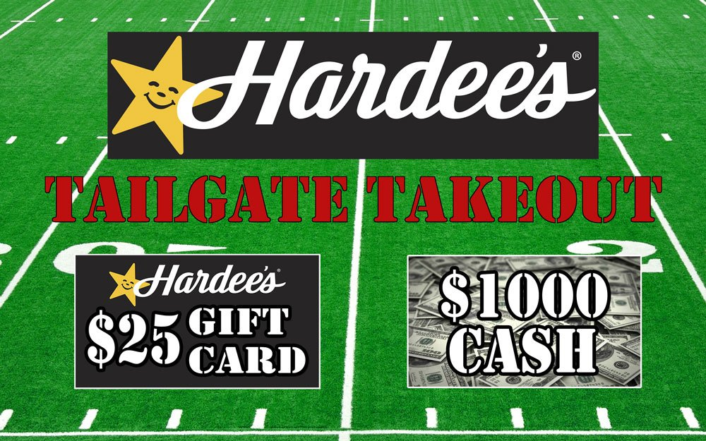 Hardee's Tailgate Takeout 2017