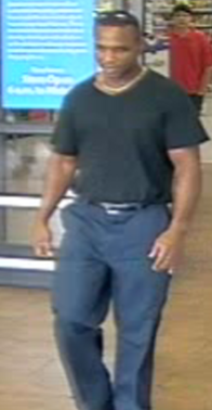 Wanted suspect for shoplifting in Richmond County; Source: Richmond County