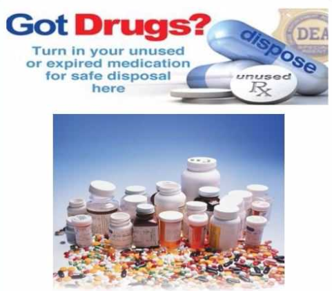 Drug Take Back event; Source: Richmond County Sheriff's Office