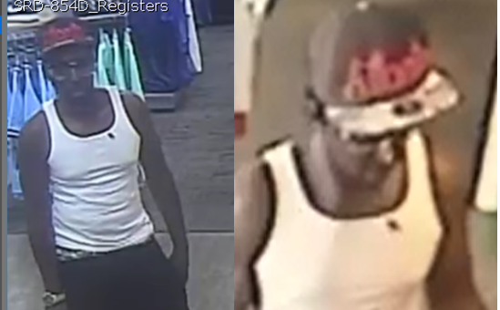 Hibbett Sport card fraud subject (source: Richmond County Sheriff's Office)