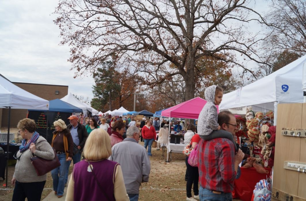 aiken parks and rec hosts 47th annual christmas craft show On craft shows in south carolina