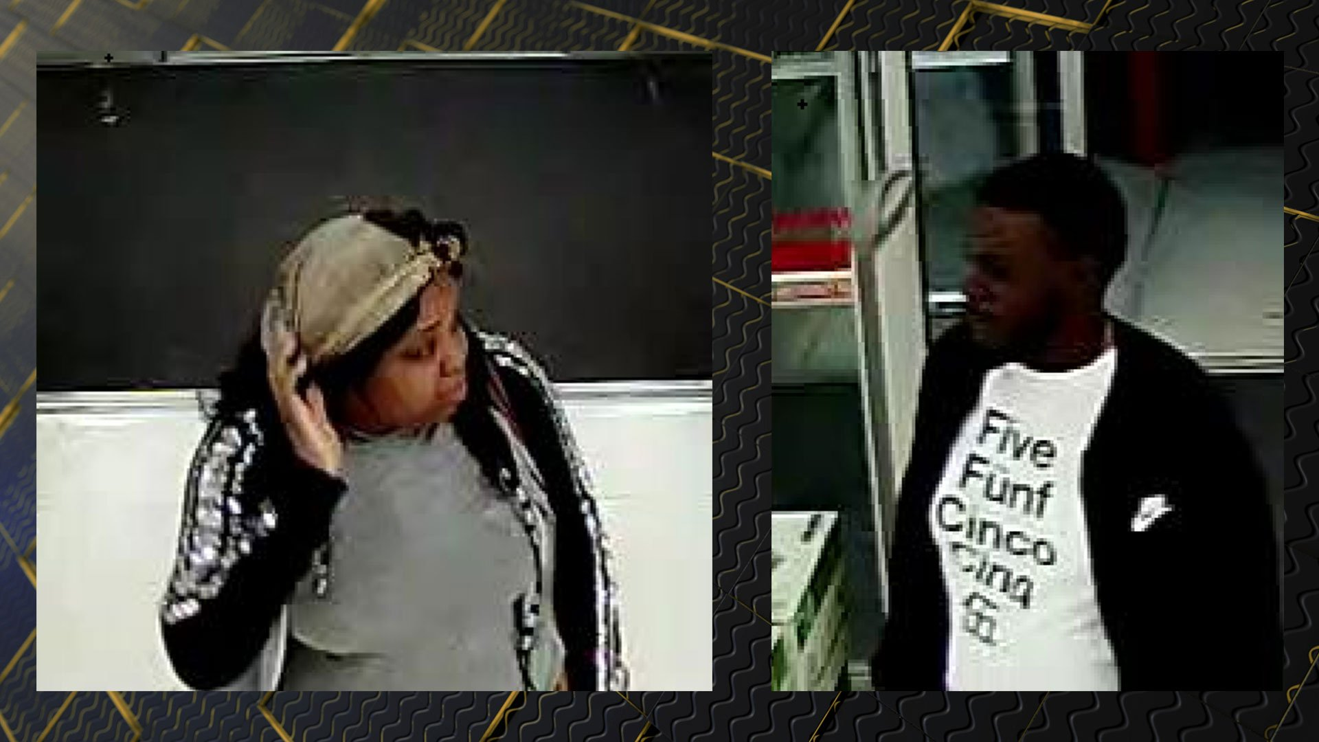 Subjects wanted for questioning in card fraud cases (source: Richmond County Sheriff's Office)