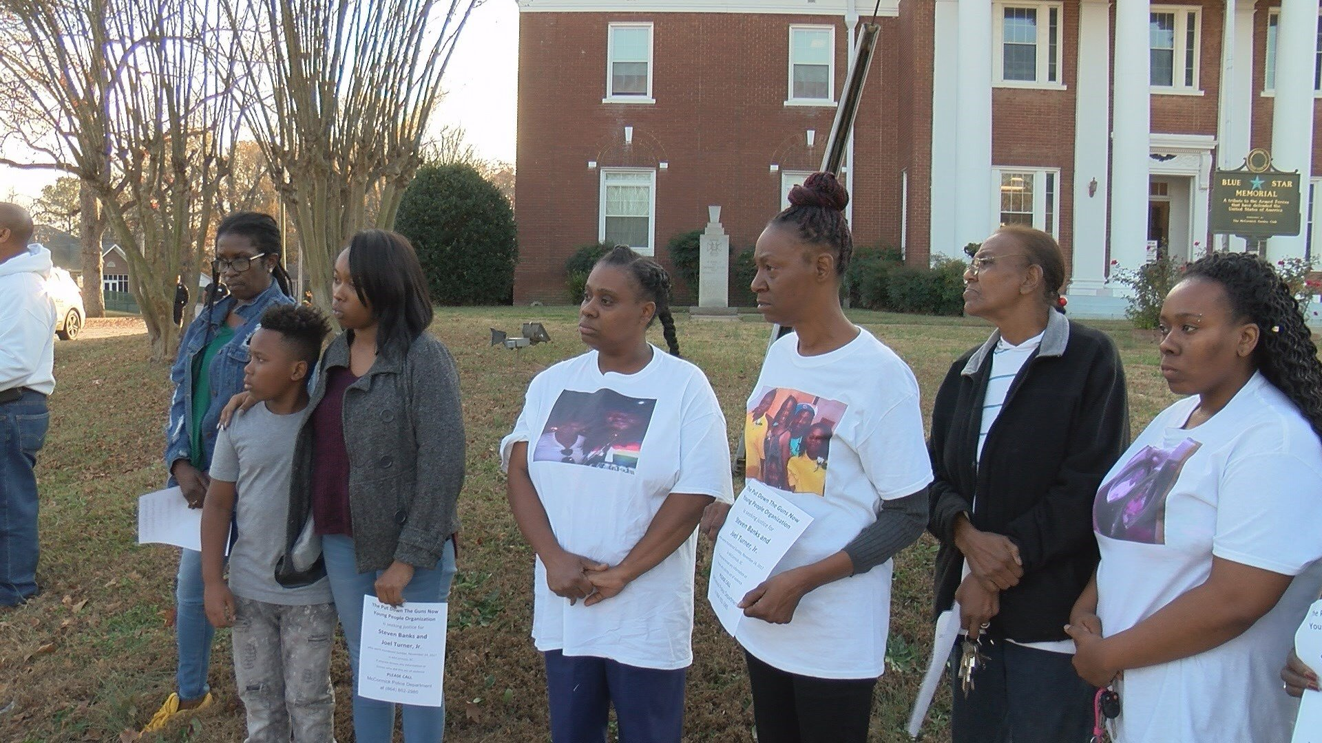 Put Down The Guns Now Rally held in McCormick County (WFXG)