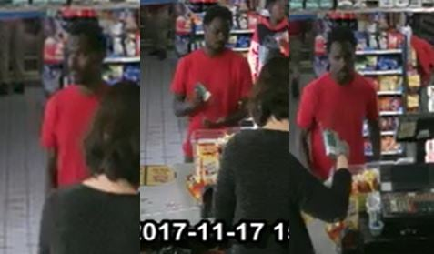JR's Mart card fraud suspect (source: Richmond County Sheriff's Office)