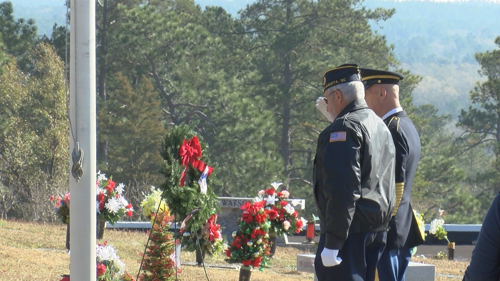 Wreaths Across America ceremony held in Aiken