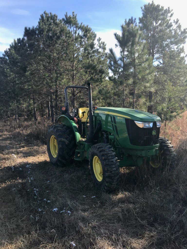 John Deere tractor stolen from Wade Plantation (source: Burke County Sheriff's Office)