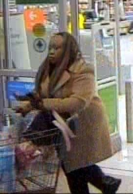 Evans Walmart shoplifting suspect (source: Columbia County Sheriff's Office)
