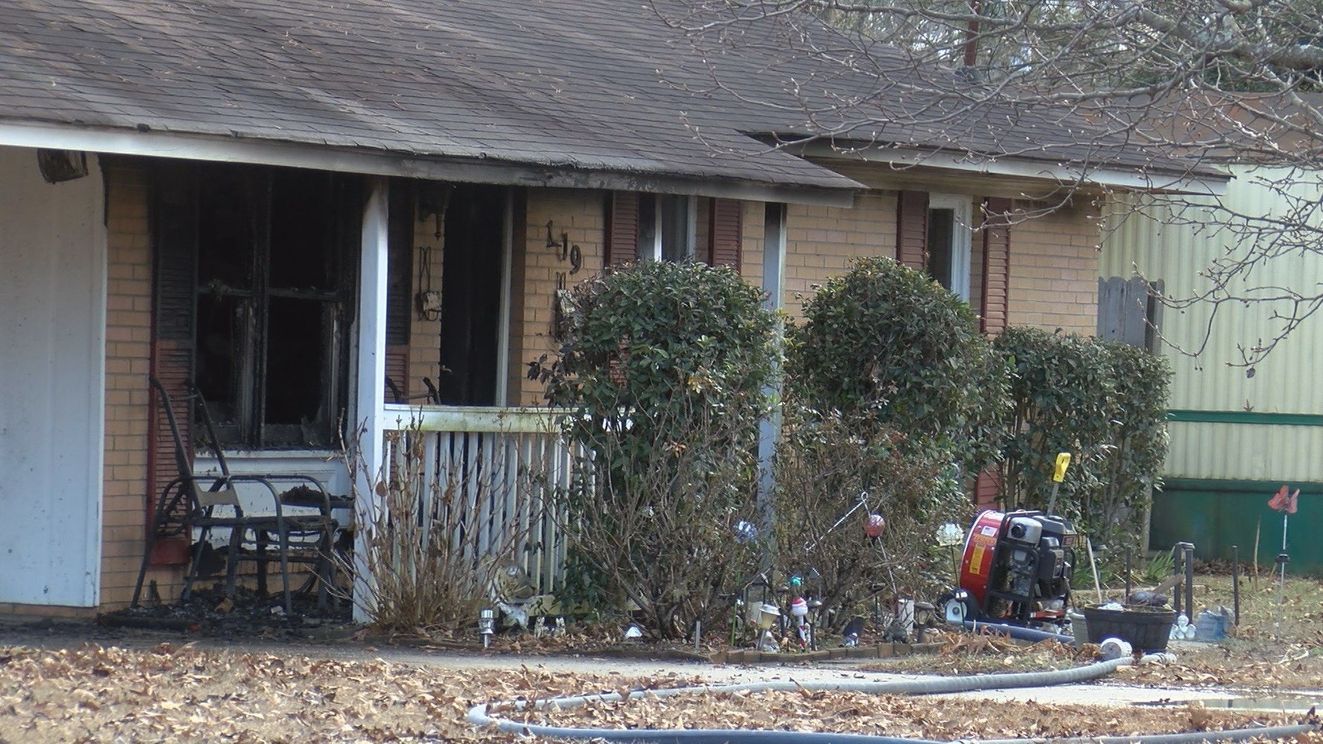 Fire at home on Francis Dr. in Belvedere 1/9/18 (WFXG)