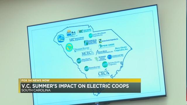 Impact on SC electric cooperatives