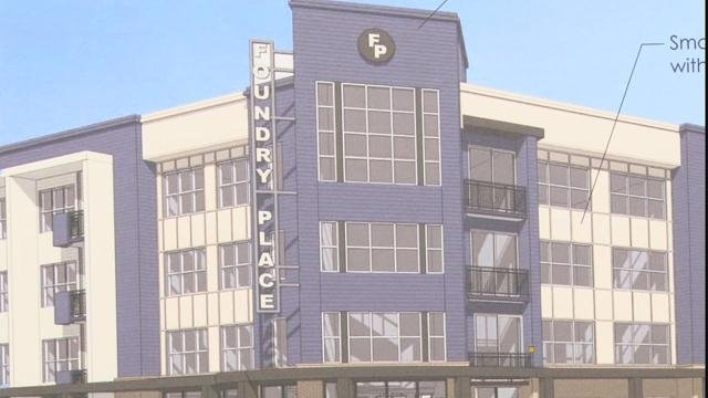 Foundry Place apartments (WFXG)