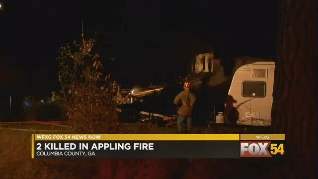 Deadly fire in Appling 3/2/18 (WFXG)