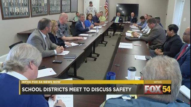 GA school leaders meet to discuss school safety (WFXG)