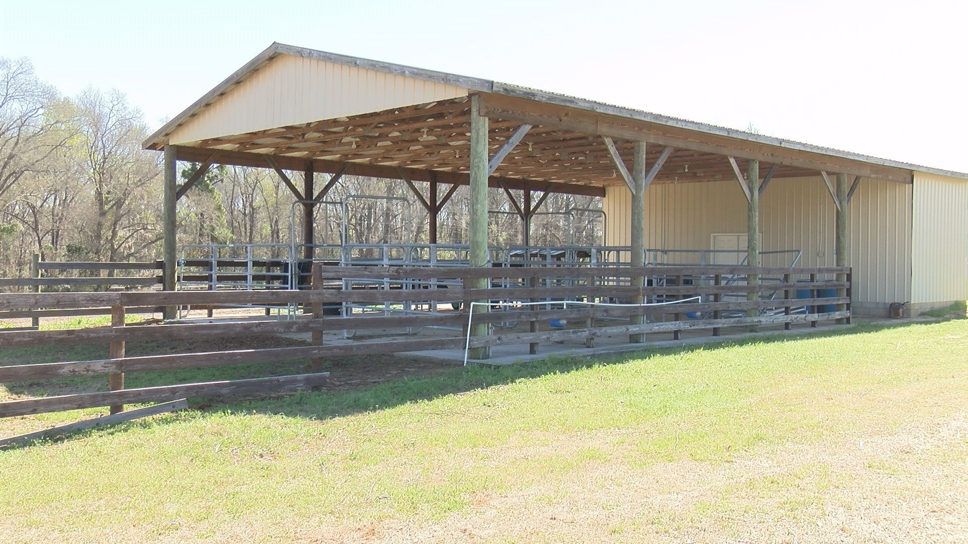 Burke County High School agriculture barn and outdoor classroom (WFXG)