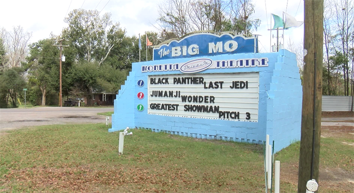 """Drive-in movies theaters enjoying resurgence as """"The Big Mo' celebrates 20 years"""