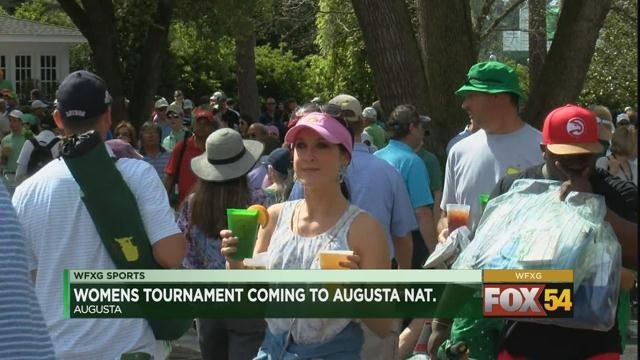 Women's tournament coming to Augusta National (WFXG)