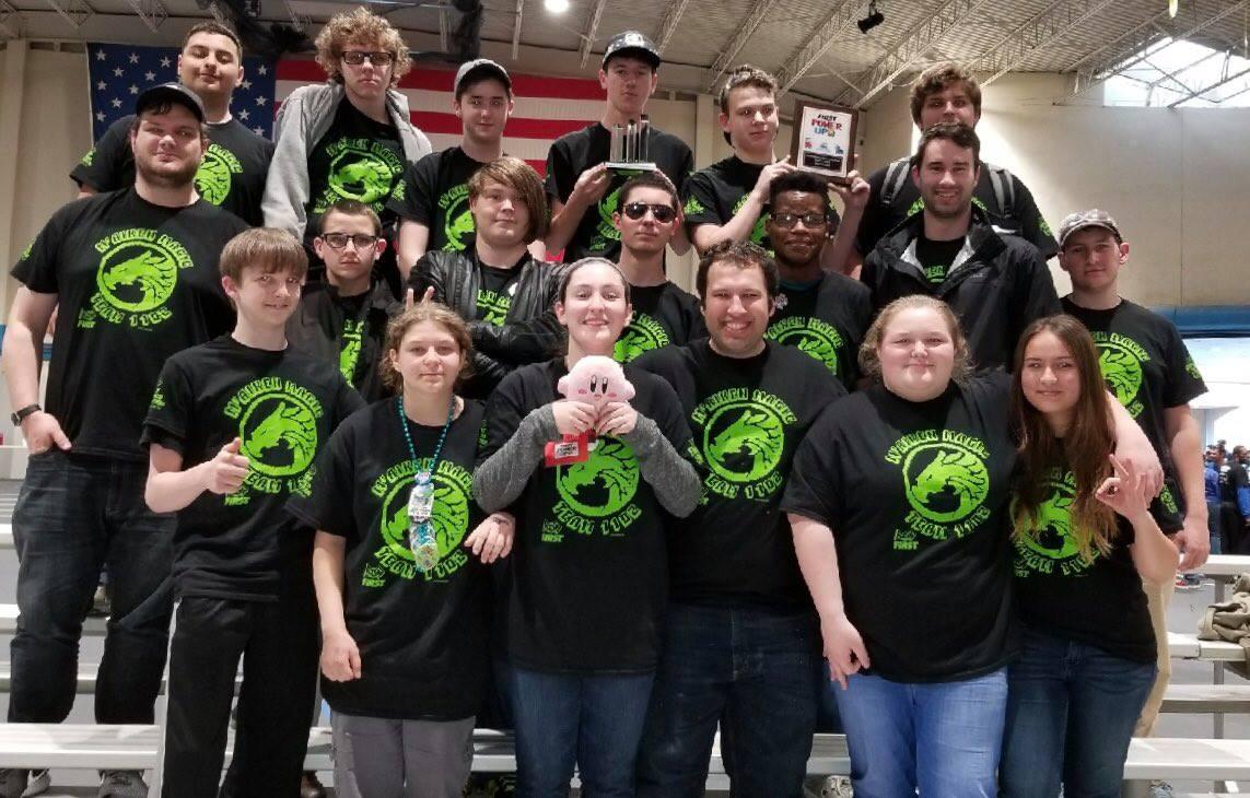 M'Aiken Magic Robotics Team (source: M'Aiken Magic / Facebook)