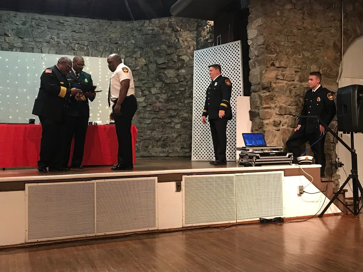 Sgt. Aaron Groenenboom, Firefighter of the Year