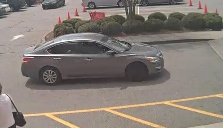 Shoplifter's getaway car (Columbia County Sheriff's Office)