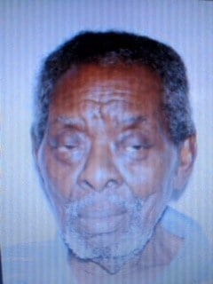 Richmond Co. Sheriff's Office is looking for a missing man, 81 yo. Woodrow Wilson (RCSO)