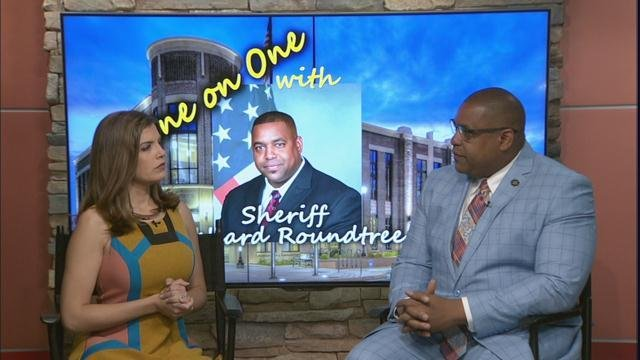 Sheriff Richard Roundtree sits down with Stephanie Lopez (WFXG)