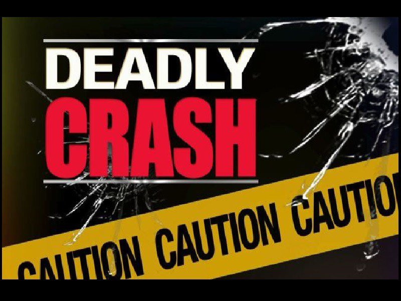 Deadly crash stock graphic